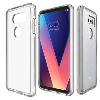 LG V30 (Transparent Case)