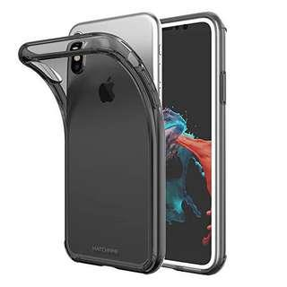 🚚 iphone x ( Jelly Case) Black & Blue Colour