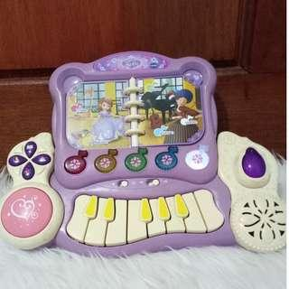 VTech Disney Sofia the First Royal Learning Piano