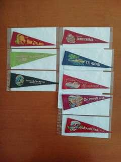 New. New Zealand Pennant Flags.