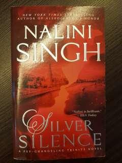 🚚 015. Silver Silence, By Nalini Singh