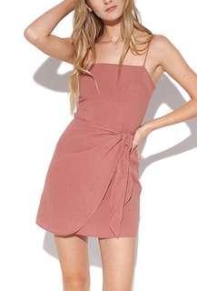 perfect stranger pink tie dress