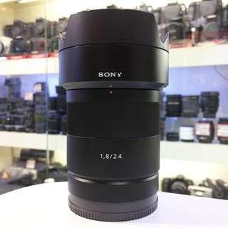 Sony 24mm F1.8 Z