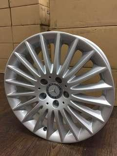 17 inch PCD5-112 Mercedes Benz Original Rims On Offer Sale
