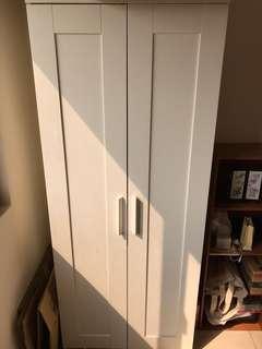 IKEA白色衣櫃