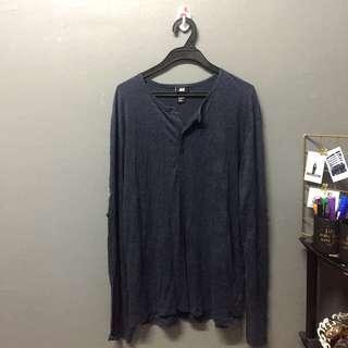 (ADULT) H&M long sleeve shirt