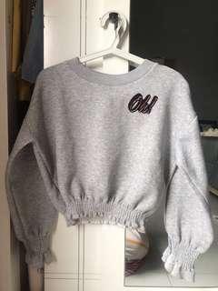BERSHKA Crop Sweater