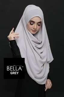 Bella Grey Khimar