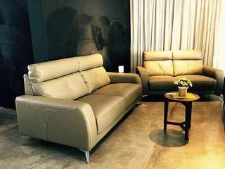 Promotion: BN Full Top Grain Cow Hide Imported Leather Sofa