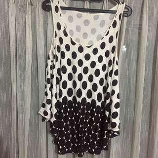 Polkadot tank top