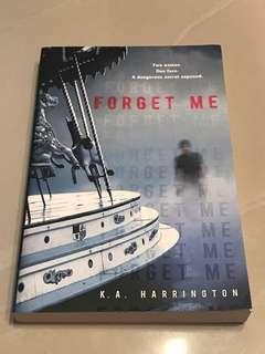 Forget Me Novel English