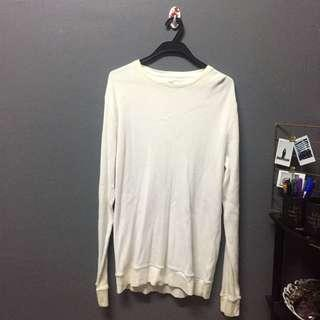 (ADULT) GAP white sweatshirt