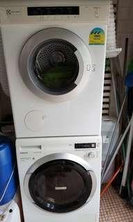 🚚 Washing machine and dryer