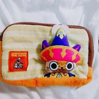 Monster Hunter 日本環球影城 精品袋 拉鏈袋