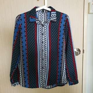 🚚 Retro Vintage Striped flannel