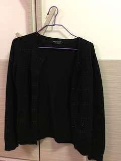 Nice Claup 黑色珠珠外套