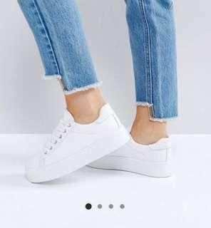 ASOS Design Day Light Lace Up Trainers Sneakers