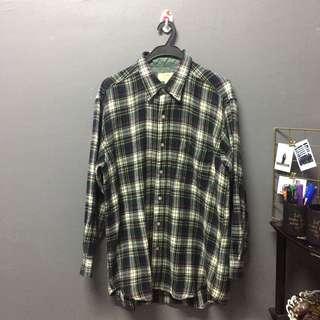 (ADULT) Egg-nog flannel shirt