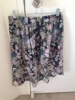 Floral Zara Skirt