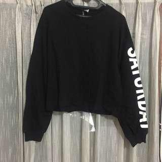 H&M Saturday Crop Sweater