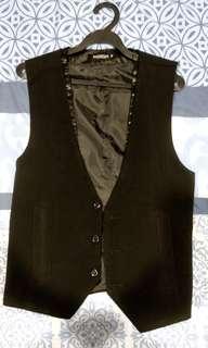 Matte Black Vest (Medium Sized)