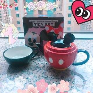 Disney Mickey & Minnie Teapot set 米奇米妮