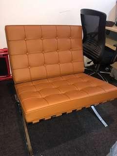 Real high quality Barcelona Chair X 2