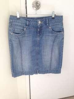 Esprit Denim Skirt size 10