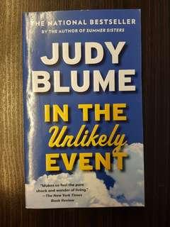 🚚 015. In the Unlikely Event, By Judy Blume