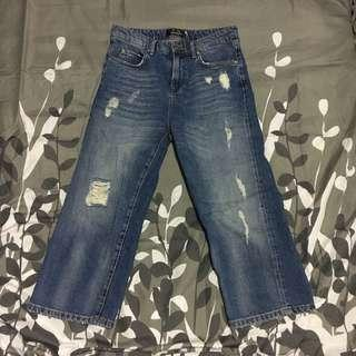 Max & Co wide leg cropped pants
