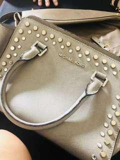 Pre loved MK Selma with studs M