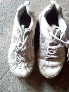 Skechers White Sneakers Free Shipping