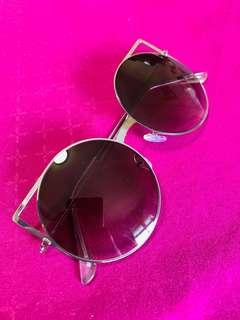 f979b73d8ee  COTTON ON  Cut out Round Cat Eye Sunglasses