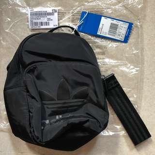 New & AUTHENTIC adidas originals Classic Mini Backpack xs Black