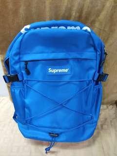Supreme 藍 後背包🎒