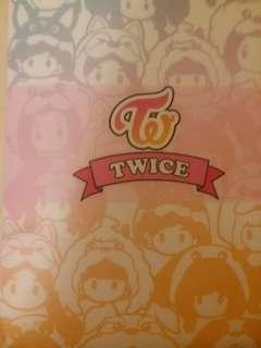 twice yes card 簿