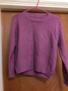 粉紅色冷衫