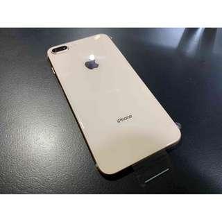iPhone8 Plus 64G 金色 原廠整新機 全新未用 保固內 只要19000 !!!