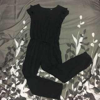 Zara dark gray jumpsuit