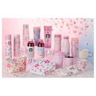 日本Starbucks 櫻花杯代購 (Sakura glasses/ bottles)