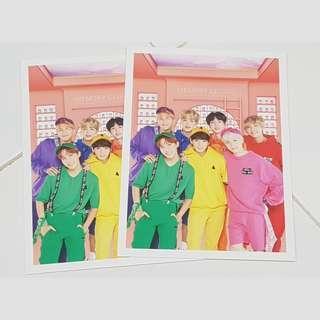 BTS Fourth Muster DVD Postcard