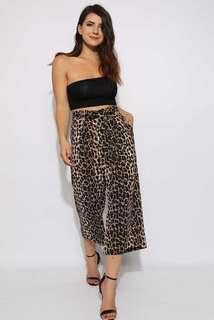 Leopard Printed Culottes