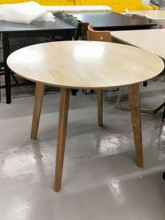 MAIYA Round Dining Table in NATURAL COLOR