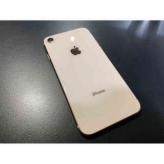 iPhone8 256G 金色 漂亮無傷 只要17000 !!!