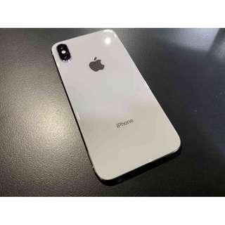 iPhoneX 64G 銀色 漂亮無傷 加碼送行動電源 只要19500 !!!
