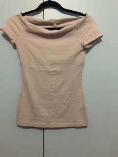 Kookai off the shoulder top size 1