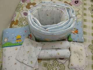 Complete Baby Crib Set Worth More Than RM300