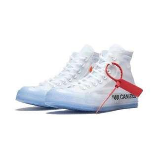 🚚 Unisex Off-white sneakers