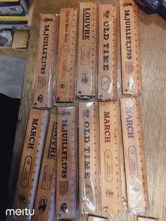 🚚 Wooden ruler 15cm