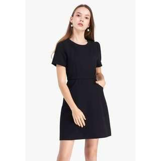 Fayth Soulee Pocket Shealth Dress